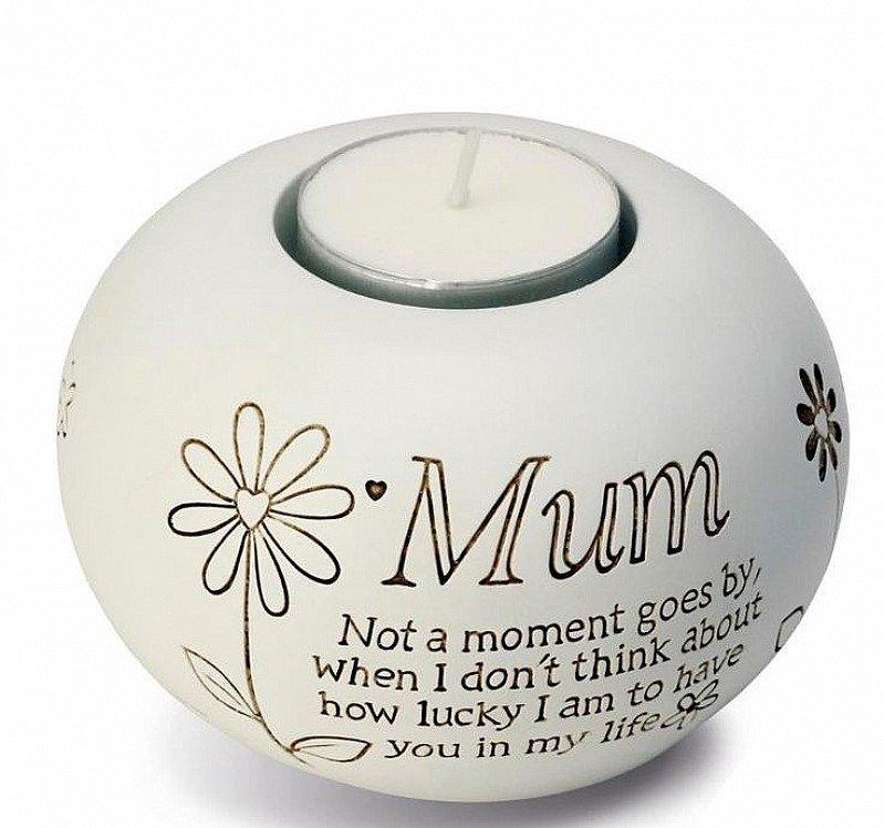 SAVE 44% OFF Said With Sentiment Mum Tea Light Candle Holder