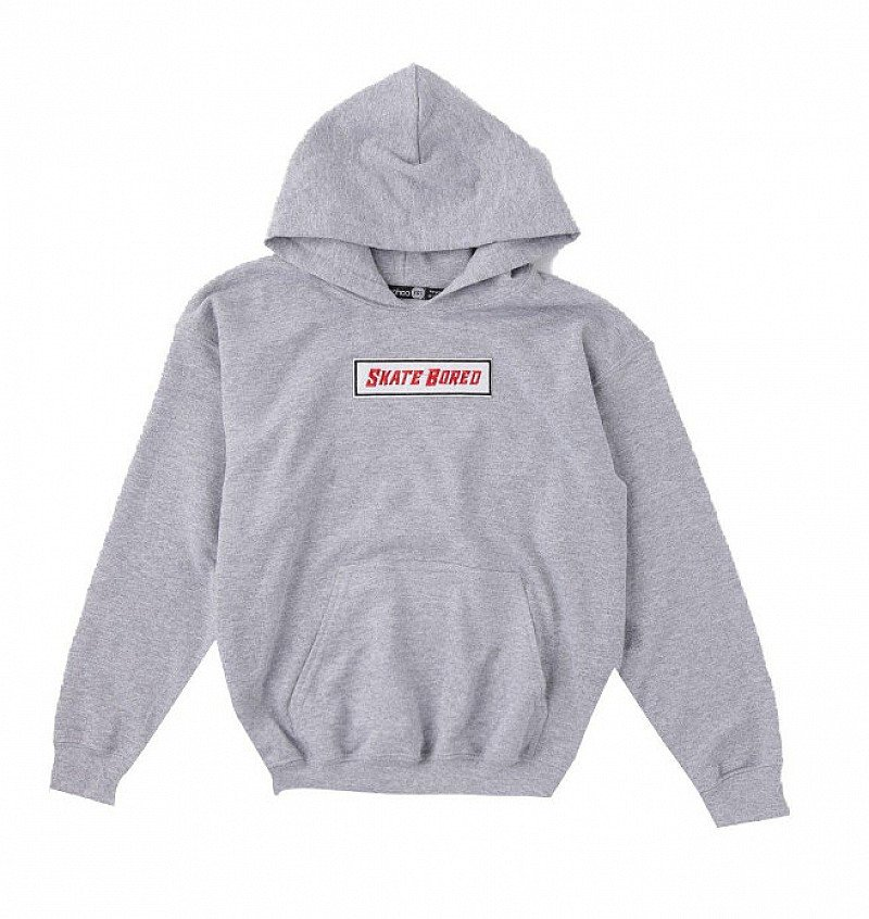 Skate Bored Embroidered Hoodie - NOW 1/2 PRICE!