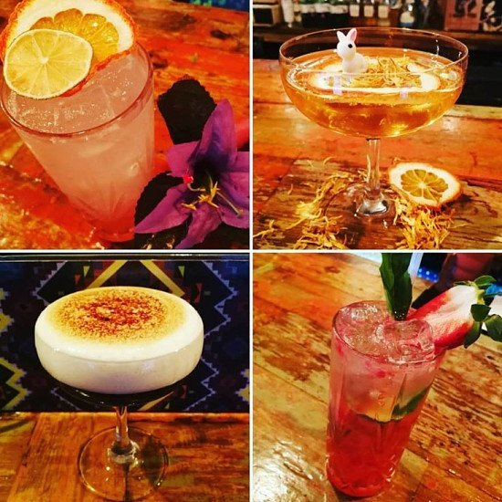 Happy Hour cocktails are looking THIS good guys!