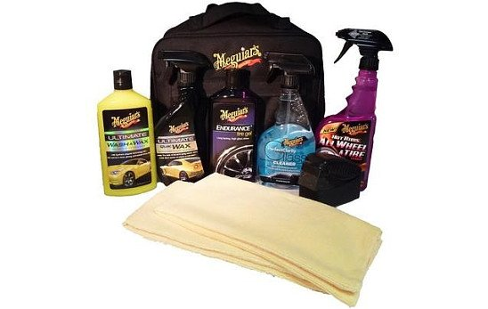 20% OFF this Meguiars Deluxe Car Care Kit!