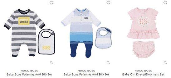 SAVE up to 50% on Hugo Boss Kids & Babies!