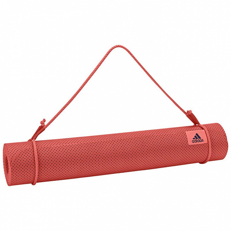 SAVE over 40% OFF adidas Yoga Mat, Trace Scarlett!