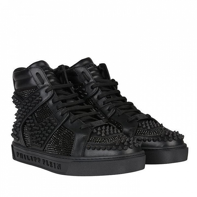30% OFF - PHILIPP PLEIN Dont Wake Me Up High Top Trainers!