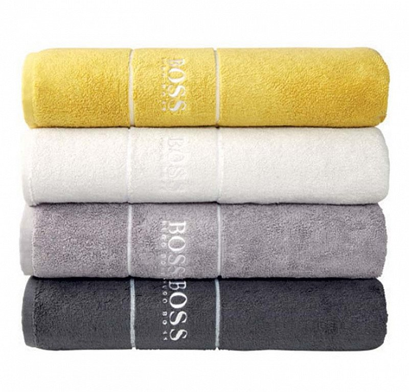 SAVE up to 40% on the Hugo Boss Home Towel Range - from ONLY £4!