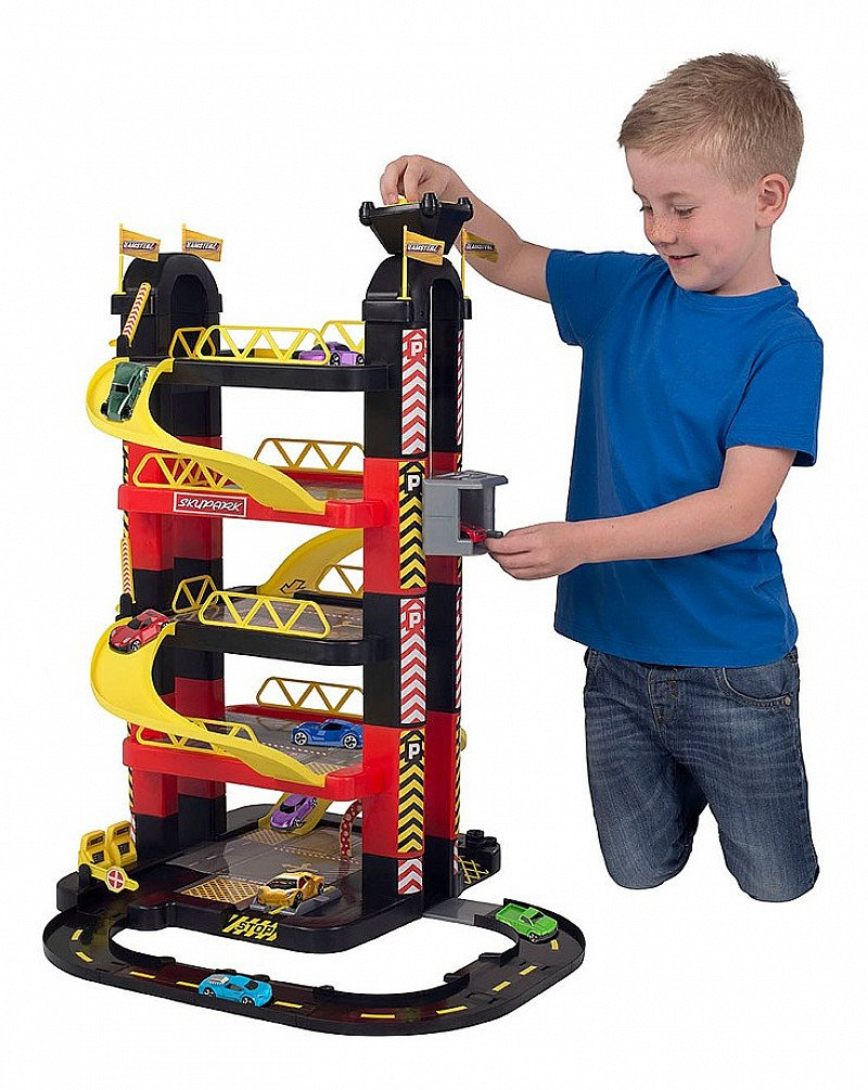 SAVE 1/3 on this Teamsterz 5 Level Tower Garage!