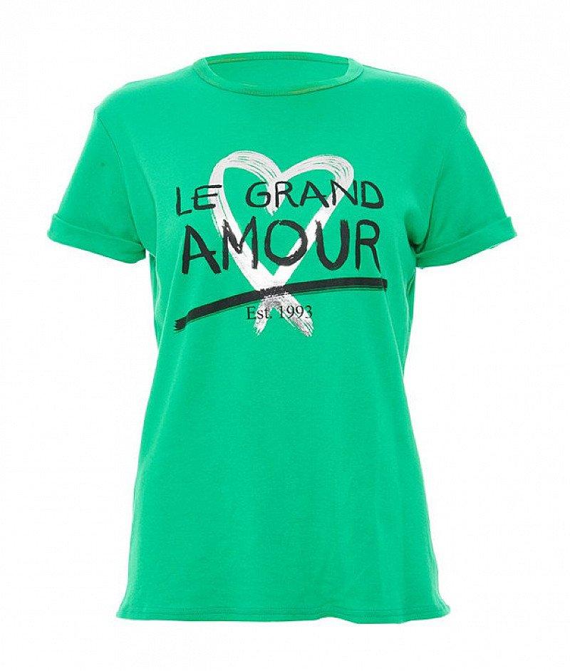 30% OFF this Green Slogan T-Shirt !