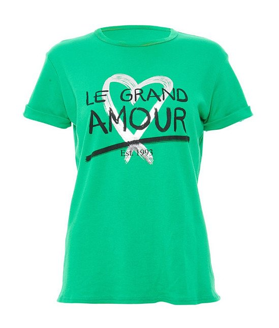 30% OFF this Green Slogan T-Shirt !