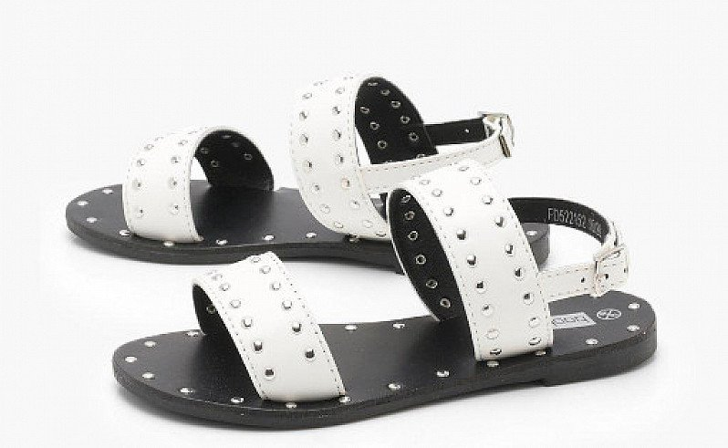 Girls Studded Detail Sandal - NOW 1/2 PRICE!