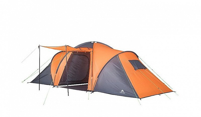 SAVE 20% on this Ozark Trail Orange 6-person Dome Tent!