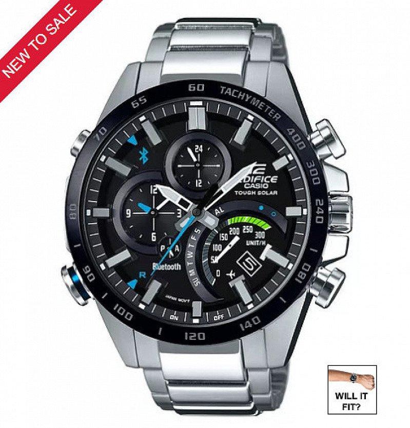 SAVE £130 on this Casio Edifice Men's Smartphone Link Steel Bracelet Watch!