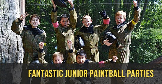 Paint Balling Juniors (10 to 13 years)  - FROM JUST £30.00!