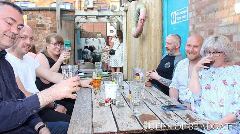 We have an outdoor Beer Garden - come and have some fun in the sun!