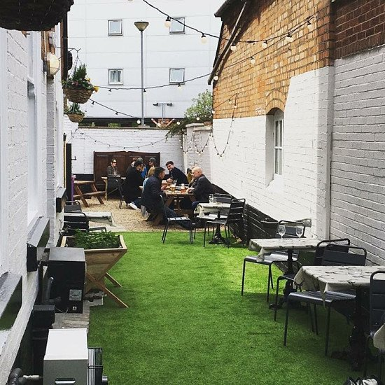 Come and enjoy a meal or a drink in our wonderful outdoor beer garden!