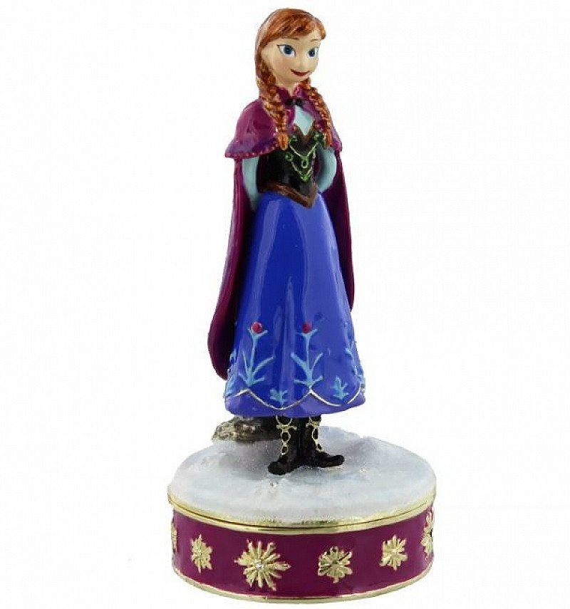 SAVE 48% OFF Anna Disney Frozen Trinket Box,Limited Availability!