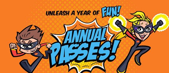 LOOK ONLINE FOR OUR ANNUAL PASS PRICES!