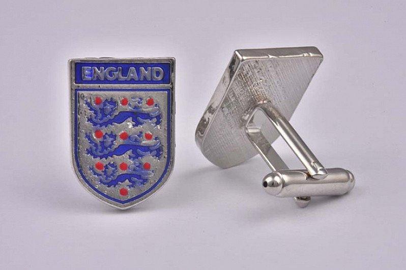 15% OFF - England Football Cufflinks