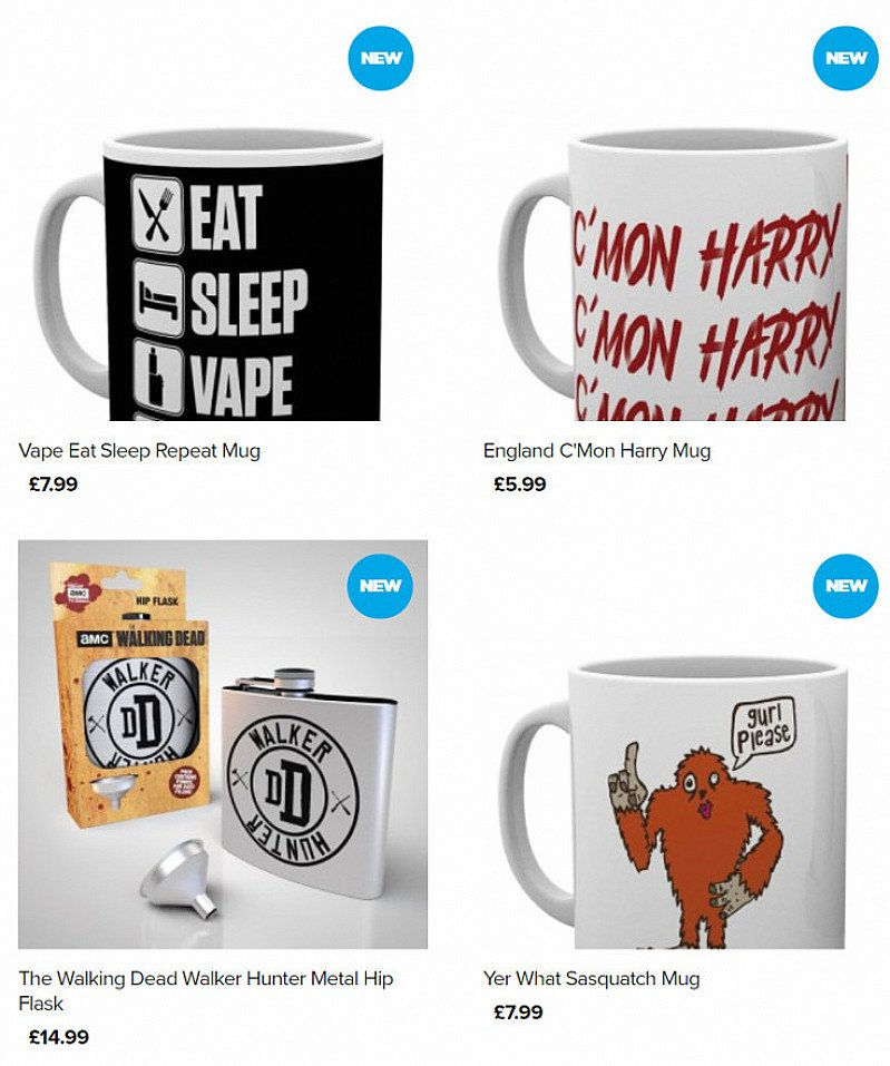 Buy any 3 items from our Drinkware Range and get 25% off!