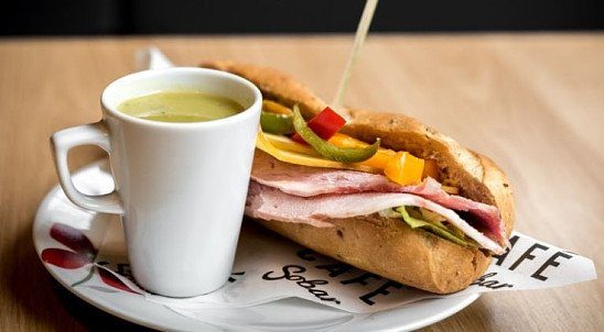 Enjoy one of our Sandwiches from just £5.25!