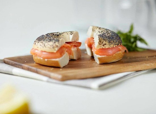 Enjoy a Classic Bagel from us for just £3.95!