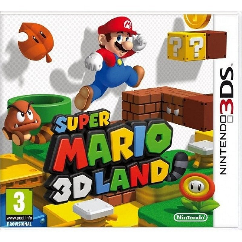 SAVE 25% on Super Mario 3D Land Game 3DS!