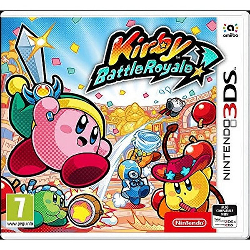 15% OFF - Kirby Battle Royale 3DS Game!