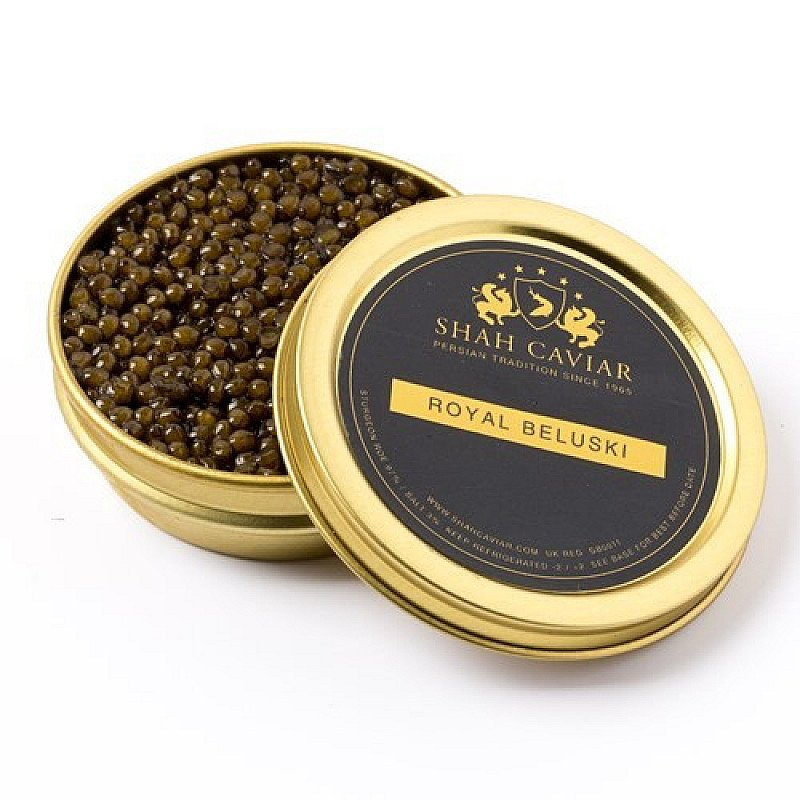 Order our Royal Beluski Caviar online for just £22.00!