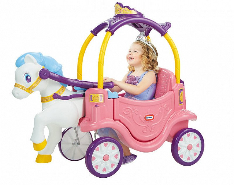 SAVE 20% on this Little Tikes Princess Horse and Carriage!