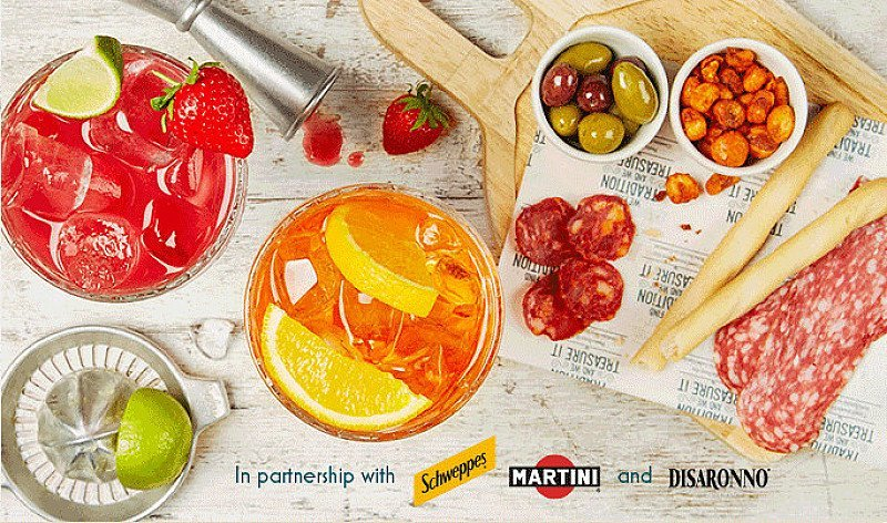 Join us for Aperitivo Hour + Get FREE Anitpasti!