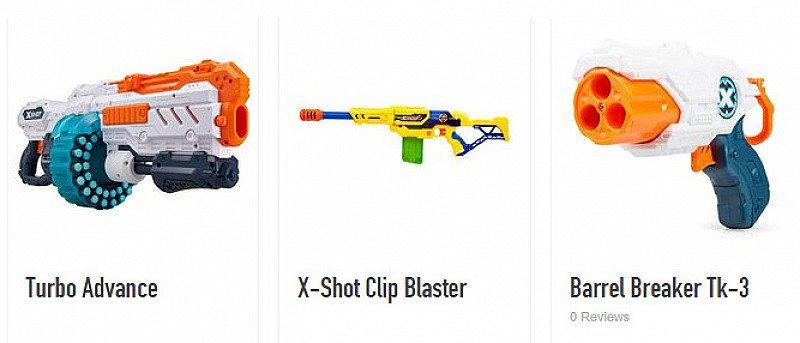 25% OFF X-Shot Dart Blasters!