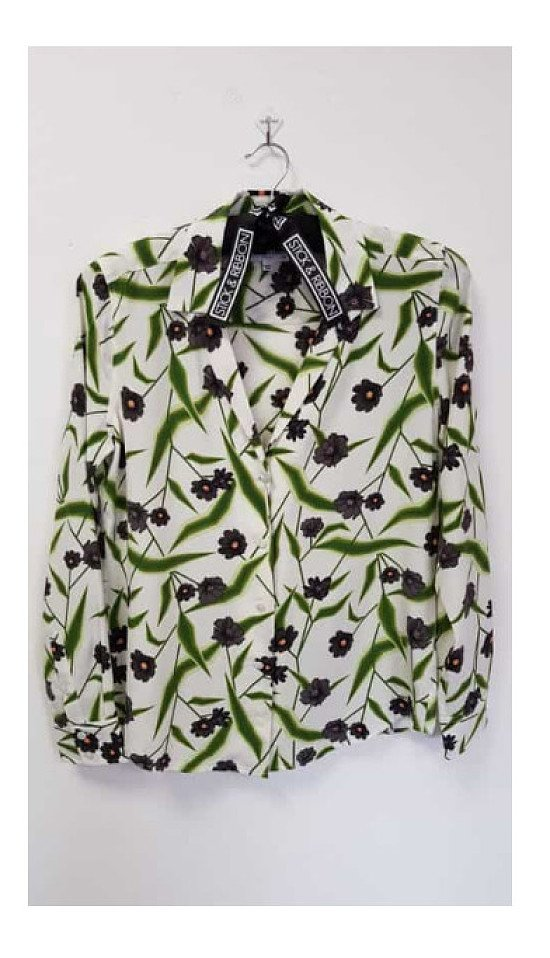 Equipment Adalyn Shirt – Bright White Multi: £260.00!