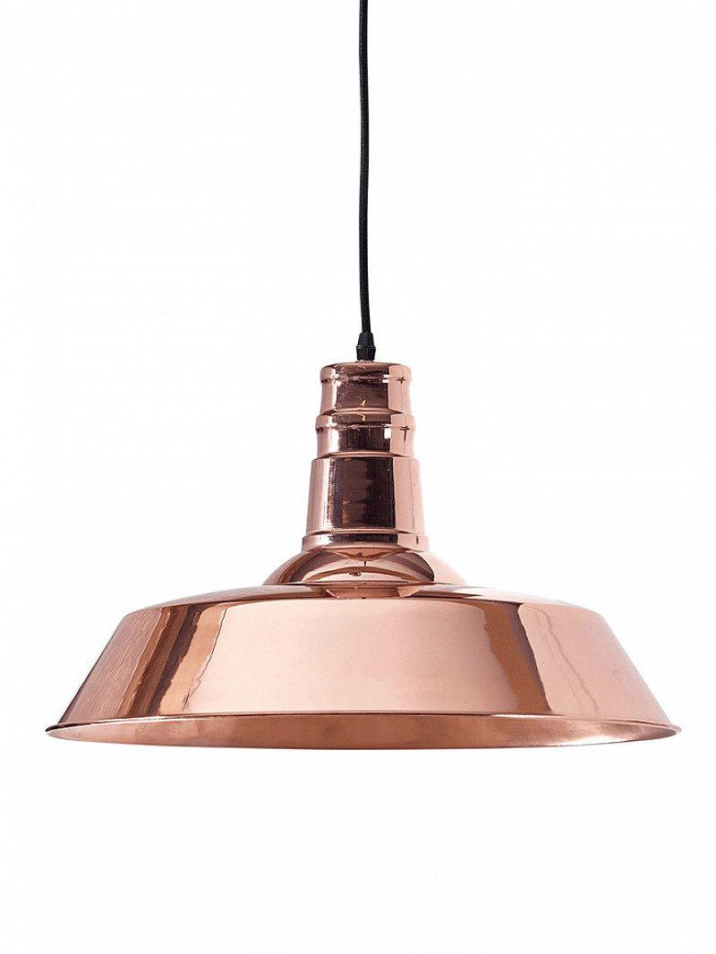 Industrial Copper Pendant - NOW HALF PRICE!