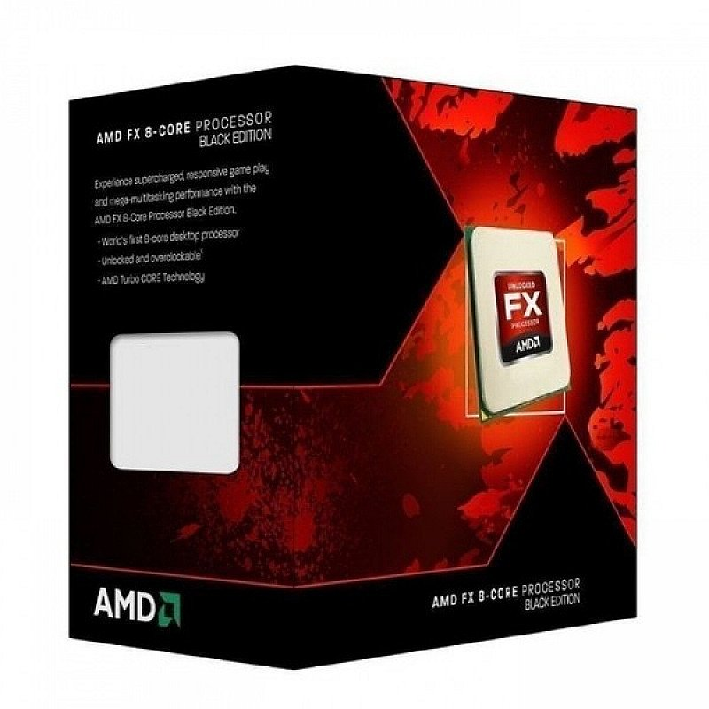 25% OFF - AMD FX-8350 CPU, AM3 , 4.0GHz, 8-Core, 125W, 16MB Cache, 32nm, Black Edition