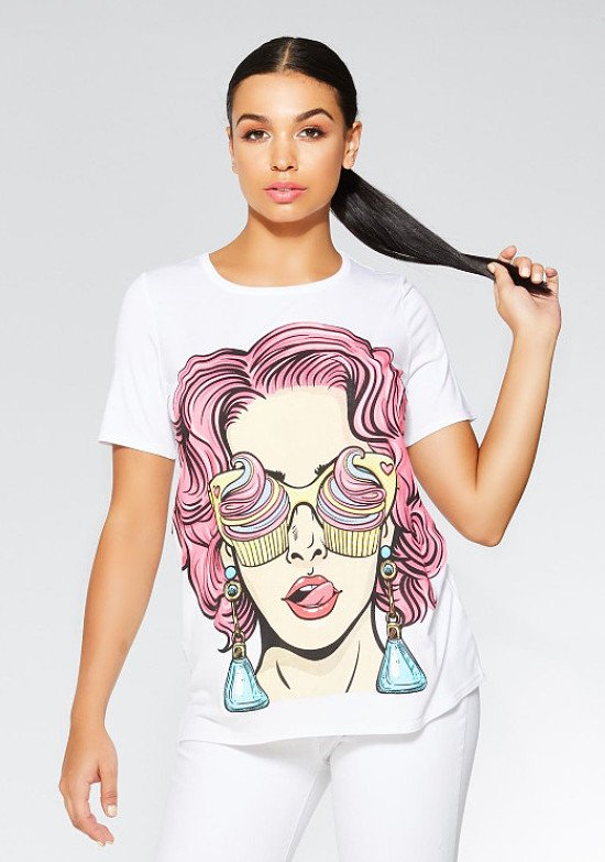 SAVE 1/3 on this White Ice Cream T-Shirt!