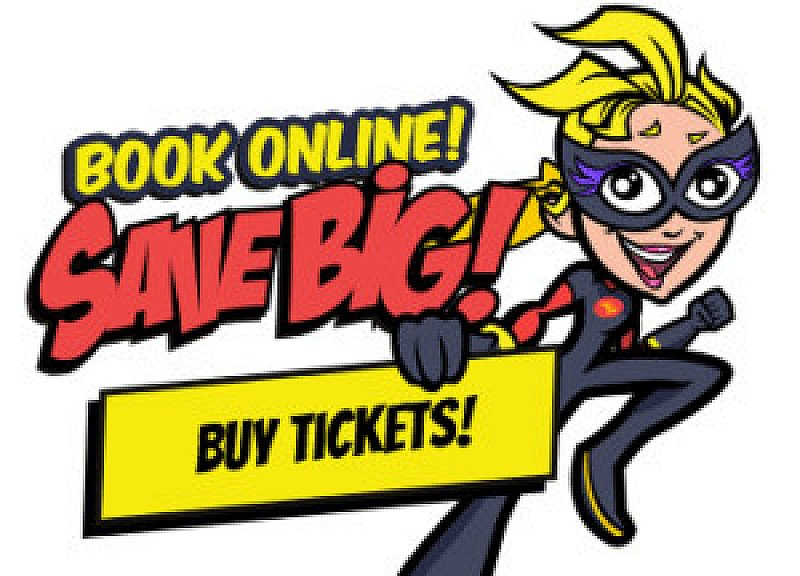 Buy tickets online a visit us this summer holidays!