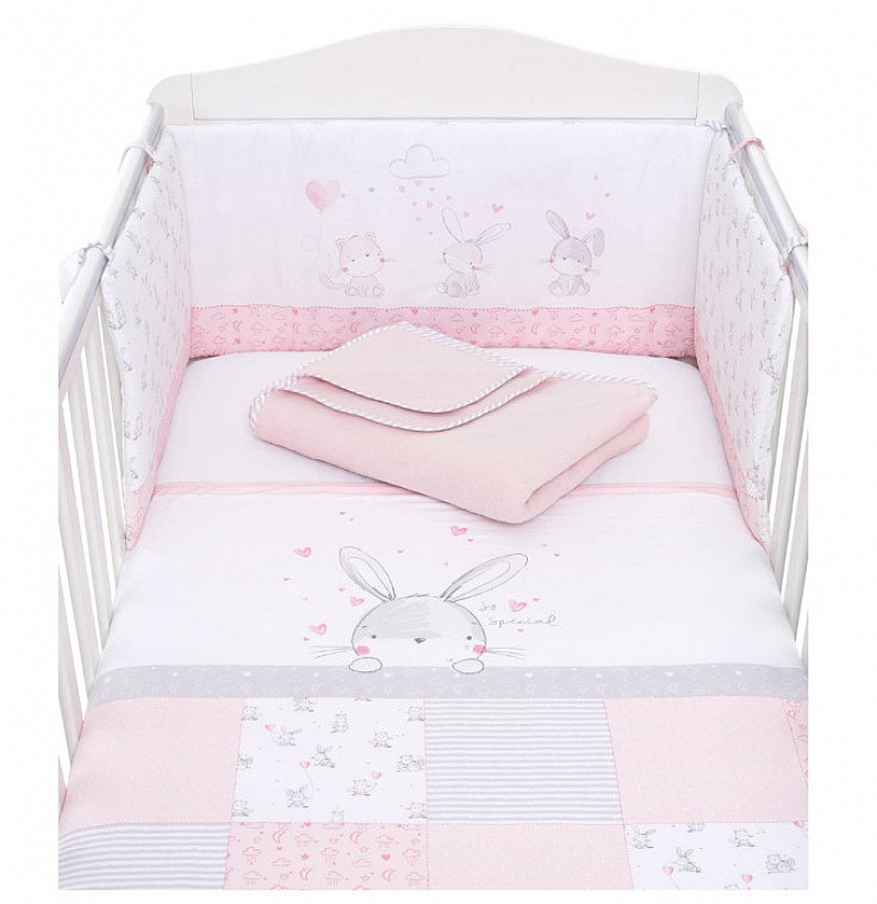 SAVE 20% on this My First Bed in Bag - Pink Bunny!