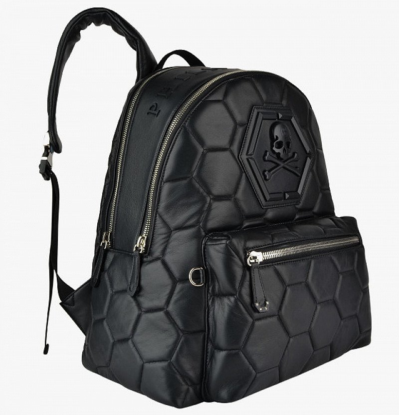 SAVE £995 on this PHILIPP PLEIN Logo Skull Backpack!
