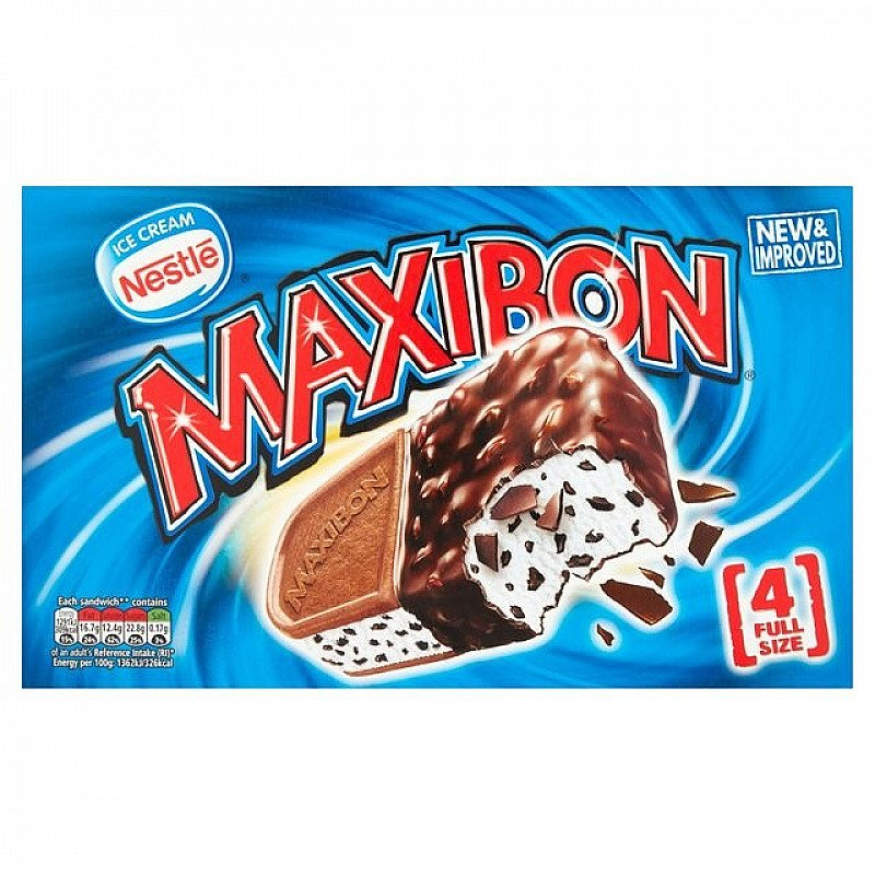 Pick up our bestselling Nestle Maxibon 4 Ice Cream Sandwich for just £4.00!