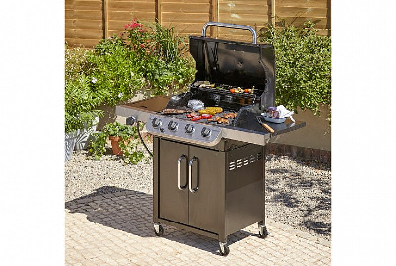 SAVE 25% on this Char-Broil 4 Burner & Side Gas Grill!