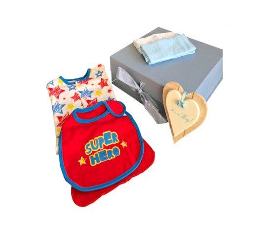 Super Hero Baby Gift Set