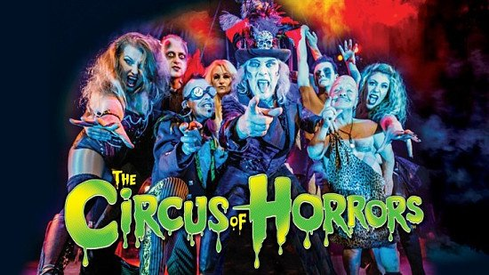 The Circus of Horrors: 2-for-1 tickets!