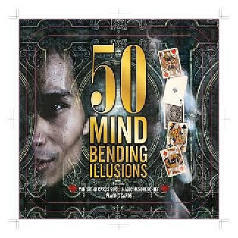 50 Mind Bending Illusions Tin - SAVE 73%!