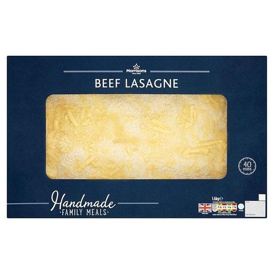 Morrisons Family Bake Their Day Lasagne: £6.00!
