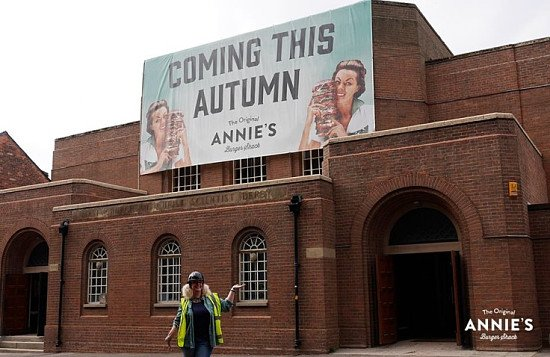 It's official; Annie's Burger Shack Derby will be opening in Autumn 2018!