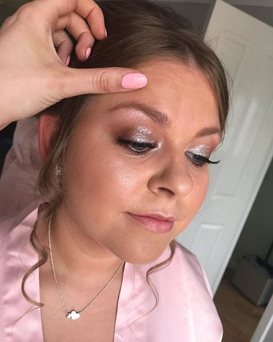 Stunning bridesmaid makeup; call to book!