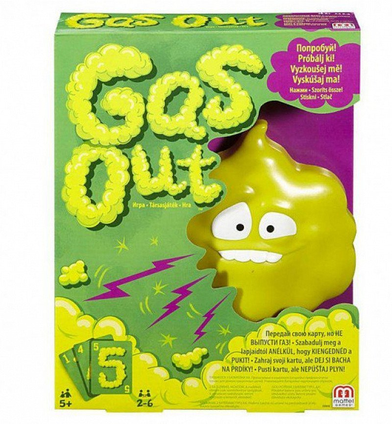 SAVE 50% on this Gas Out Game!