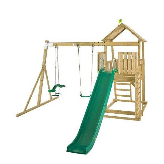 OVER 15% OFF - TP Toys Kingswood Hanover Wooden Swing Set and Slide!