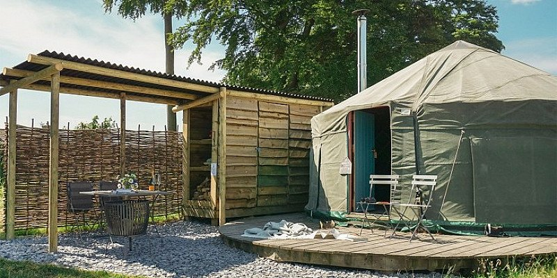 £199 – 2-night yurt break for up to 5 in North Yorkshire - Save 28%