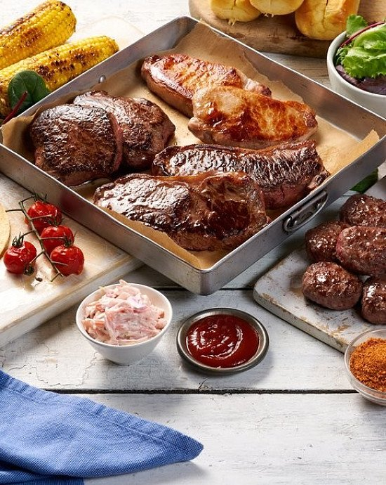 Fresh New Summer Steak Meat Box Online Was £59 now Only £29