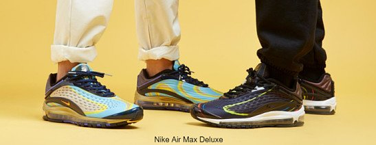 NEW: Students get 10% OFF - Nike Air Max Deluxe in all stores now.