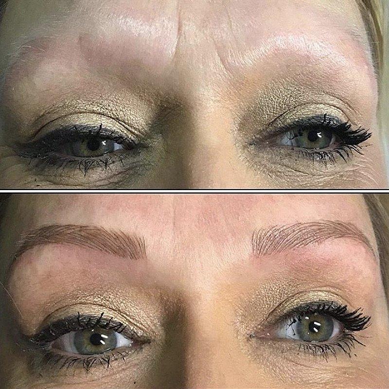 Semi Permanent Eyebrow Model Offer